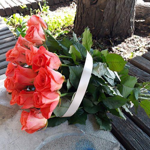 """15 троянд """"Вау"""" фото букета"""