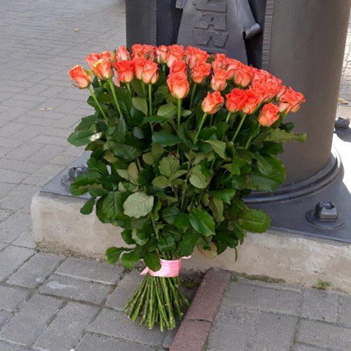 "Фото товару 51 троянда ""Вау"""