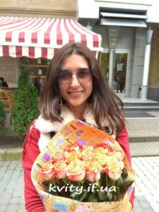 квіти у Франківську