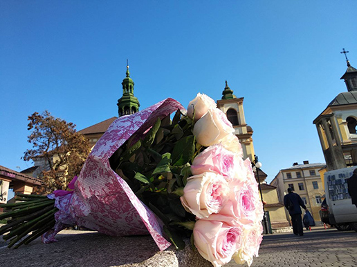 де замовити квіти в Івано-Франківську