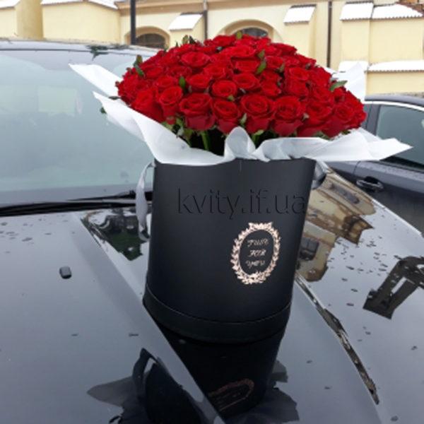капелюшна коробочка троянди Івано-Франківськ