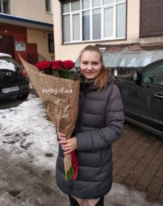 новорічний подарунок квіти