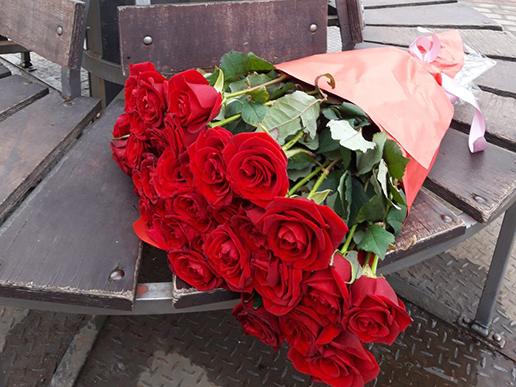 фотозвіт доставки квітів Франківськ