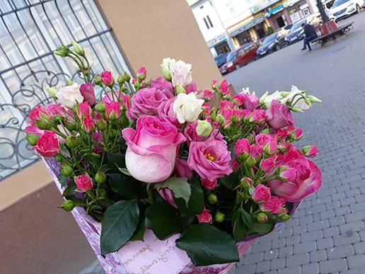 замовити квіти 14 лютого Івано-Франківськ
