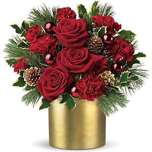 """Фото товару Коробка """"Зимова троянда"""""""