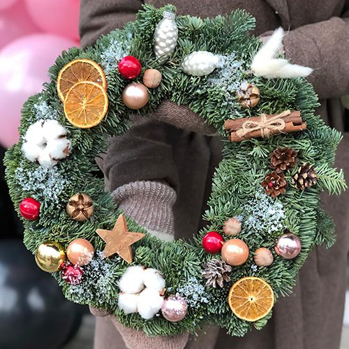 Фото товару Різдвяний вінок