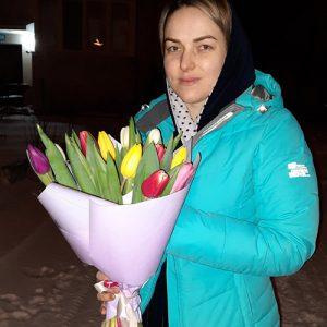 фотозвіт 15 тюльпанів мікс