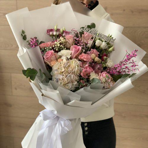 """Букет """"Mon amour"""" мікс квітів"""